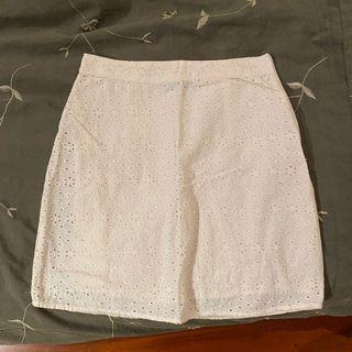 Cotton On White Floral Skirt