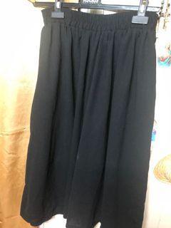 品牌造型七分寬褲-F尺碼