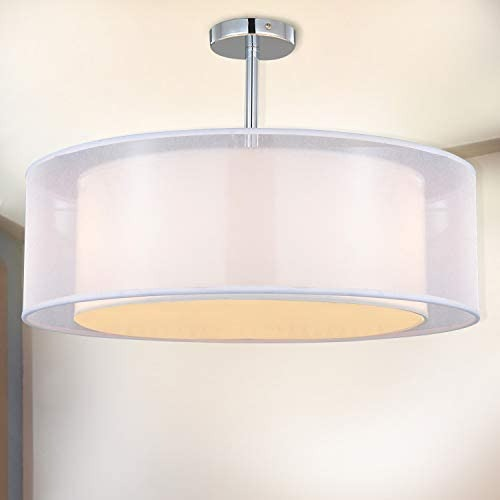 Tiers Round Pendant Lamp, Living Room Ceiling Lamp Shades