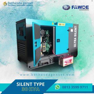 Genset Fawde 30 KVA Silent Type