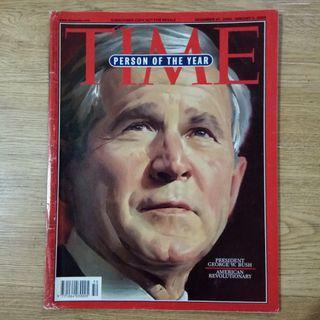 George W. Bush Time Magazine 2004 Person of the year.