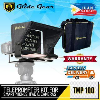 Glide Gear TMP100 Metal Adjustable Teleprompter with 70/30 Beam Splitter and Teleprompter App Support for iPad, Tablets and Smartphones | Juan Gadget