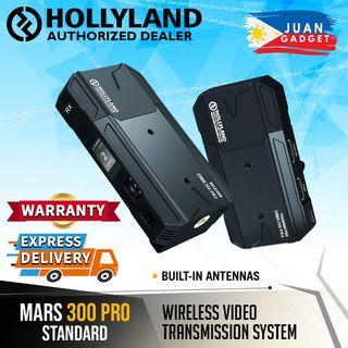 Hollyland Mars 300 PRO Standard Wireless Video Transmitter and Receiver Set with HDMI Input and HDMI Loop-Out with Hollyview App Support | Juan Gadget