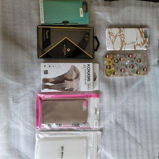 iPhone 6 7 8 plus cases and Tempered Glass Screen Protectors **See Descriptions