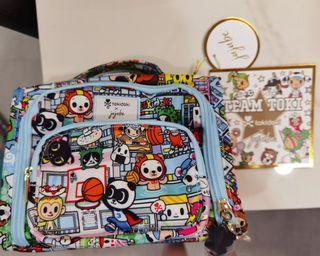 Jujube Mini B.F.F. Tokidoki Bag - Team Toki (Super Panda Zipper)