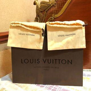 LOUIS VUITTON AUTHENTIC DUSTBAG AND PAPERBAG (LV)