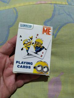 Minions playing cards by cardinal