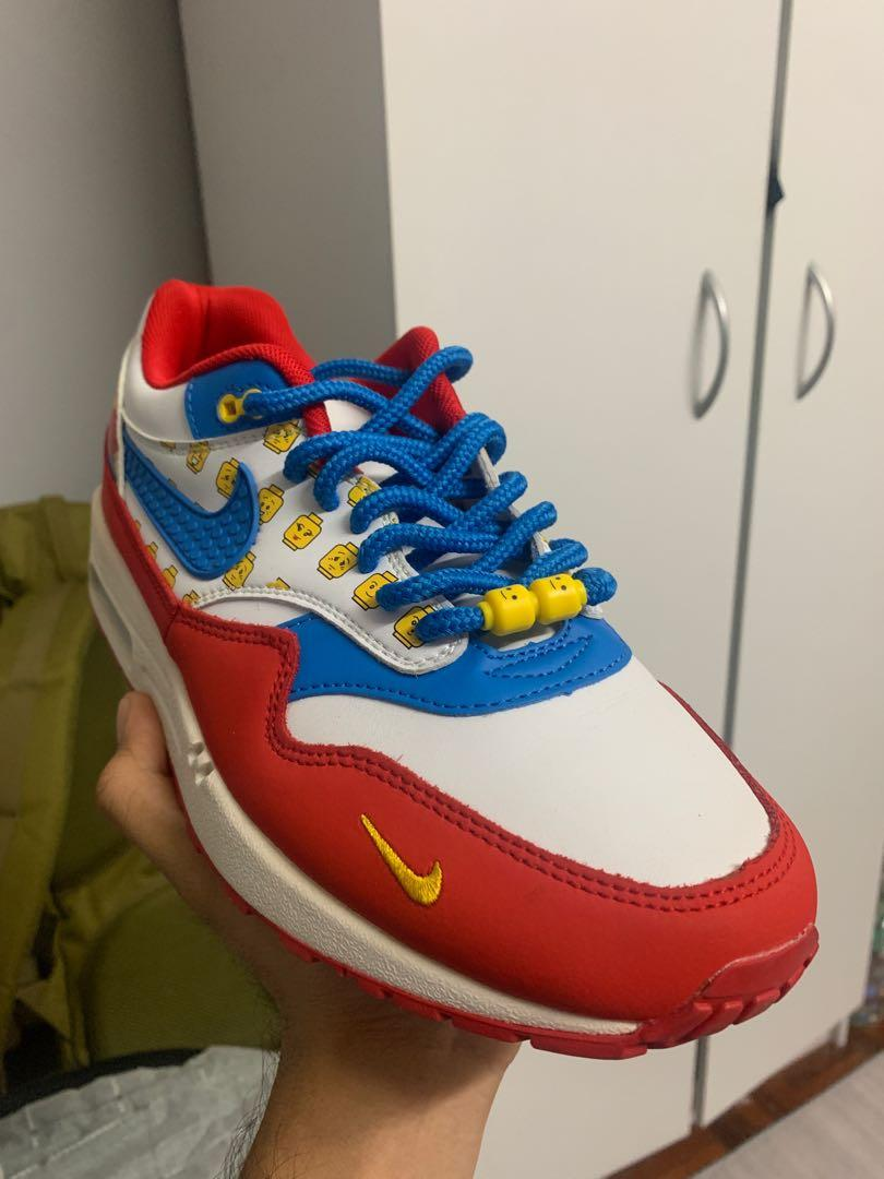 Nike air max 1 lego, Men's Fashion, Footwear, Sneakers on Carousell