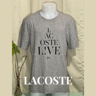 Original 100% Lacoste Live Crew Neck T-shirt Size 6