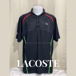 Original 100% Lacoste Sport Ultra Dry Polo Shirt  Size XXL