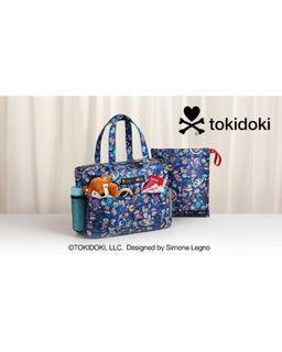 TOKIDOKI X GREAT EASTERN BABY BAG & WET BAG SET