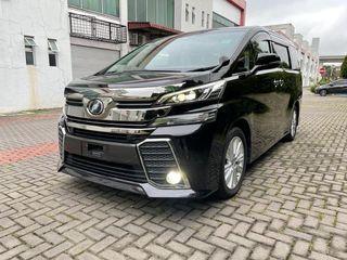Unregistered Toyota Vellfire ZA