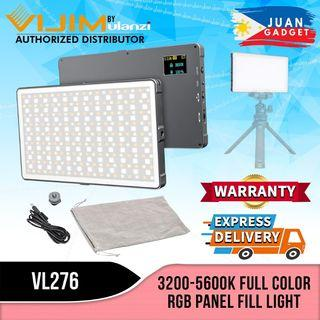 Vijim by Ulanzi Full Color RGB Panel Fill Light with Powerbank Function, Multicolor Functions and 3200-5600K Color Adjustment VL276 | Juan Gadget
