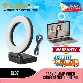 Vijim by Ulanzi Portable USB Type-C Ring VIdeo Conference Light with 3000K-8000K Color Adjustment CL07 | Juan Gadget