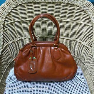 Vintage Nicole St.Gilles Leather Shoulder Bag 👜