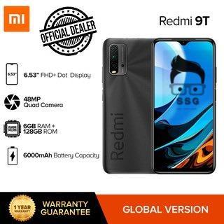 Xiaomi Redmi 9T 4g ( 4gb + 64gb) Global Version NTC with O.R. 1yr Local Warranty
