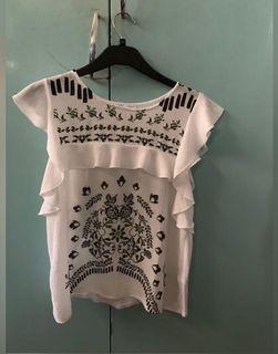 Zara sleeveless tops size small