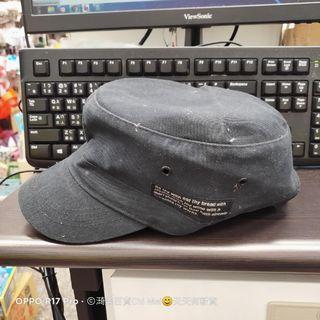 107*黑色報童帽 畫家帽  GO THE WAY
