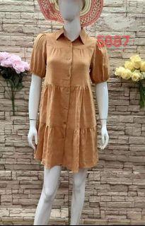 🍀9 co Button down Dress cd72221