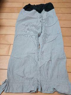 夏季超薄孕婦條文褲子