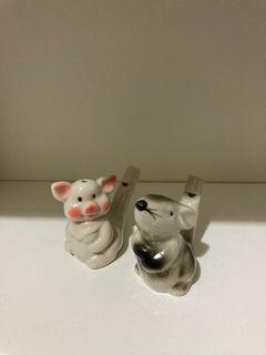 老鼠與小豬哨子🐭🐷