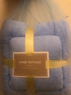 毛巾浴巾雙件組