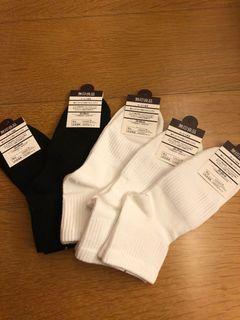 無印良品 素色棉襪5雙#斷捨離