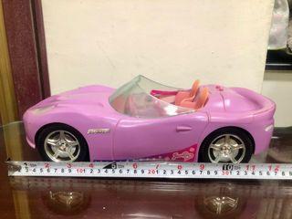 絕版!芭比娃娃 敞篷跑車 1:12 汽車 美泰兒
