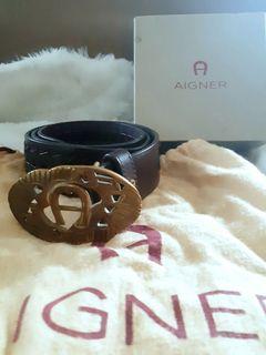 Aigner Brown Belt