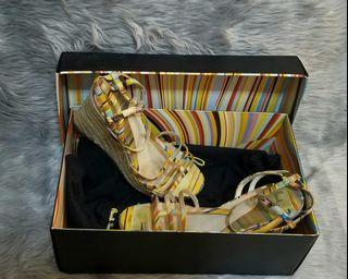 Authentic Paul Smith Classic Wedge Sandals