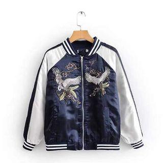 🍀Bomber Jacket embroidered HQ cd72221