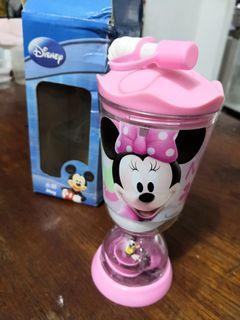 Brand New Disney Minnie Cup with straw