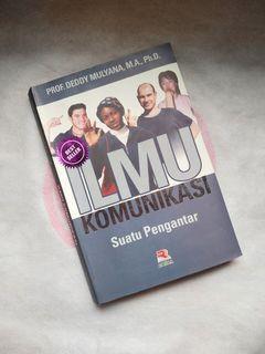 """Buku Bekas"" Ilmu Komunikasi - Prof. Deddy Mulyana, M.A., Ph.D."