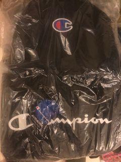 Champion 黑色大容量後背包