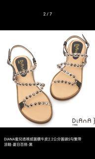 專櫃Diana透視感涼鞋