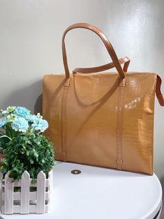 Dimitri Donna crocodile skin bag