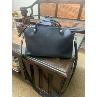 fendi BTW Black Bag preloved pl authentic hitam