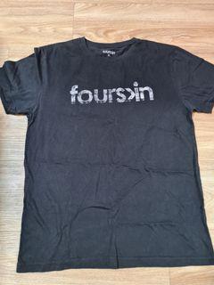 FOURSKIN Black T-Shirt