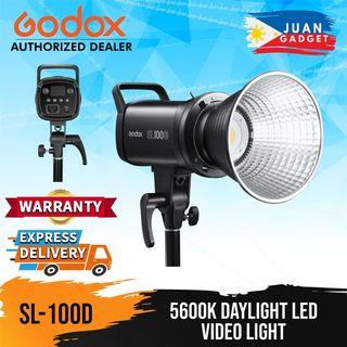 GODOX SL-100D 5600k Daylight LED Video Light with 8 Special effect Modes and Wireless control via Godox Light App Support | Juan Gadget