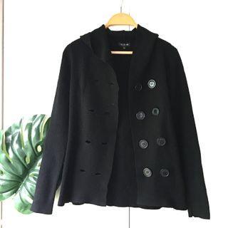 Hong Kong Black Jacket with Hood