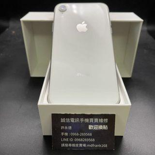 🍎iPhone XR 128g ice white battery 86% mobile phone harmless original box with charger #0281🍎