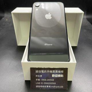 🍎iPhone XR 64g Premium Black, 85% battery, no damage to the phone, no original box with charger #9977🍎