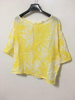 -銅板價好物-Mango夏日棉麻衫