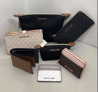 MK wallets pouch card holder Original