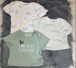 Organic Onesies for 0-3mos Baby