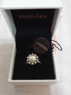 pandora 永恆的恩典珍珠戒指