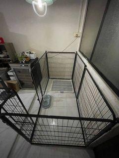 pet dog playpen cage metal