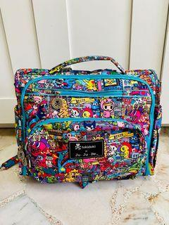 PPP! ⭐️ Jujube Tokidoki Kaiju City BFF Backpack Messenger Diaper Bag