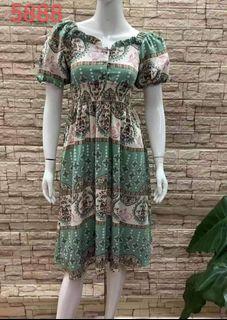 🍀Printed Bangkok Dress cd72221