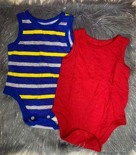 Set of Onesies for Baby Boy 0-3mos